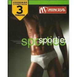 Minerva Slip Sporties 3Pack