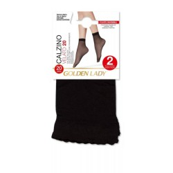 Ankle Highs 20den Set Of 2 Pairs Golden Lady