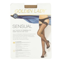 Hold Ups With Lace Top Sensual20 Golden Lady