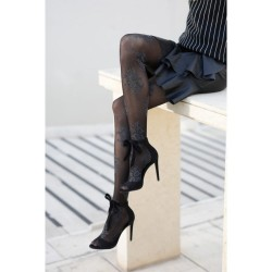 Fashion Tights With Floral Pattern Ider