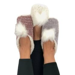 Women's Ballerina Slippers  With Anti-slip Outsole art2510 Ider