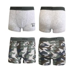 Boy's Cotton Boxer Set Of 2 Pieces Ider