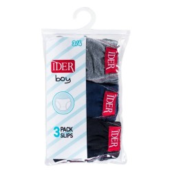 Cotton Briefs for Boys 3 Pack Ider