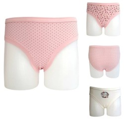 Cotton Brief For Girls Set Of 3 Pieces Ider