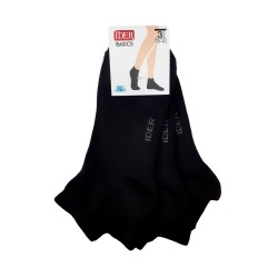 Cotton Ankle Socks Set Of 3 Pairs Ider