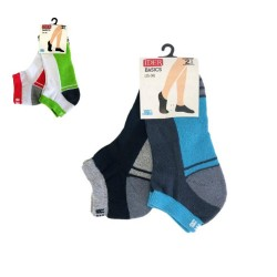 Cotton Shoe Line Socks Set Of Two Pairs Ider