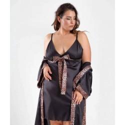 Satin Nightdress Plus Size