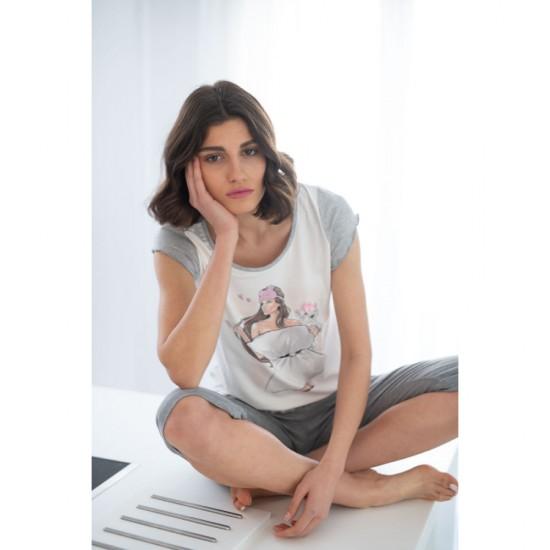 Women's Pyjama Set Pillow Girl Miss Rodi