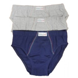 Cotton Briefs for Boys 3 Pack