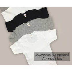 Men's T-Shirt with Short Sleeves and Open Neck Nina Club