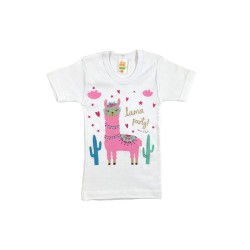 Children's Short Sleeve T-Shirt with Nina Club Designs