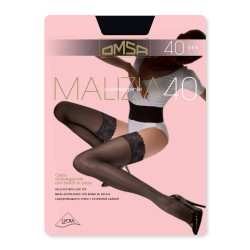 Hold Ups With Lace Top Malizia40 Omsa