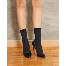 Ankle Highs Texture SiSi