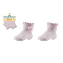 Baby Patterned Socks Set Of 2 Pairs Ysabel Mora