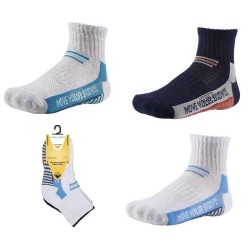 Kids' Ankle Patterned Socks Set Of 3 Pairs Ysabel Mora