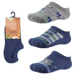 Kids' Low-Cut Patterned Socks Ysabel Mora