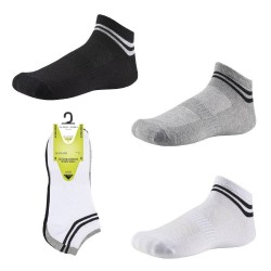 Men Low-Cut Patterned Socks Set Of 3 Pairs Ysabel Mora