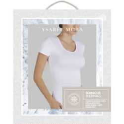 Short Sleeved Thermal T-shirt Ysabel Mora