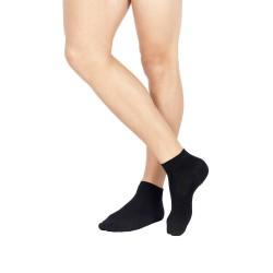 Cotton Ankle Socks Set Of 3 Pairs Pompea